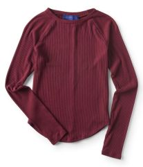 Long Sleeve Seriously Soft Ribbed Raglan Tee • $4.99