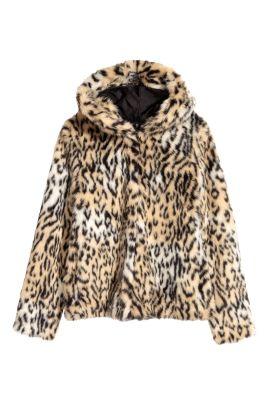 H&M Faux Fur Jacket • H&M • $34.99