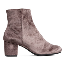 H&M Block-heeled Ankle Boots • H&M • $39.99