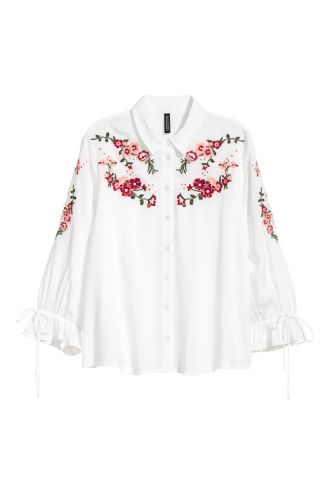 H&M Embroidered Blouse • H&M • $34.99
