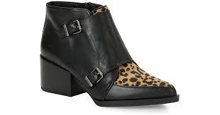 Sam Edelman Women's Case Leopard Print Calf Hair High Heel Booties • Sam Edelman • $68
