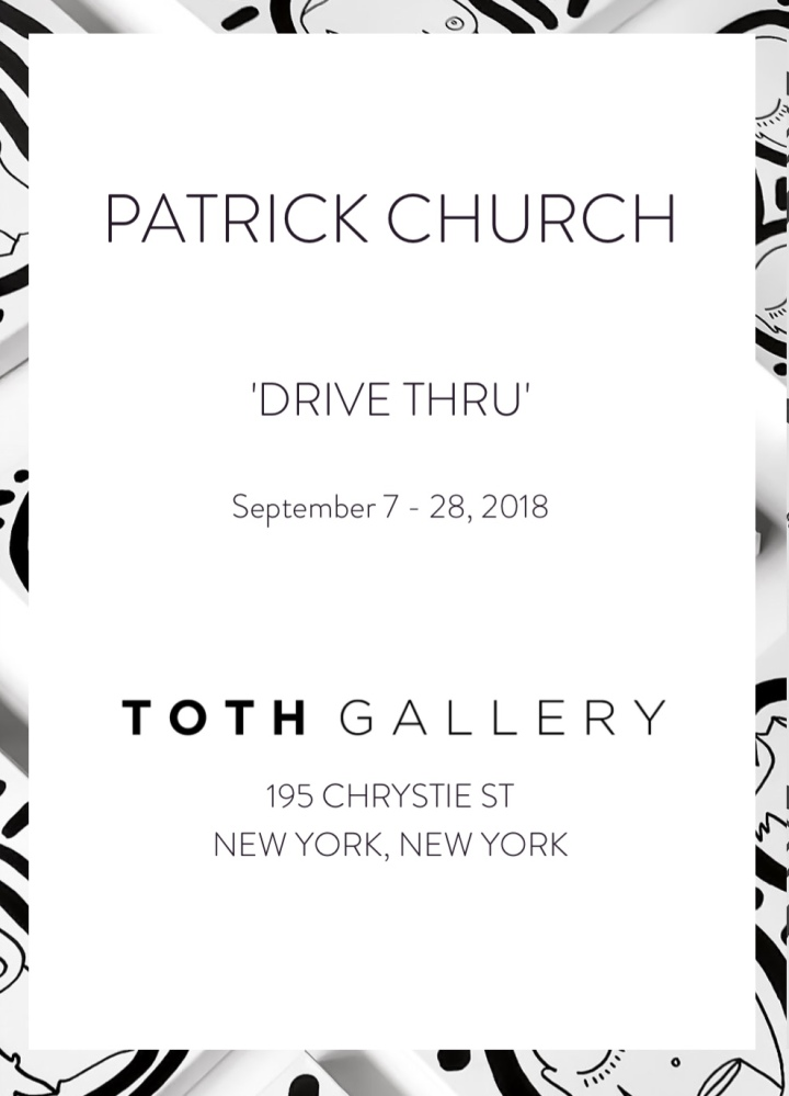 Patrick Church Drive Thru Gallery Invitation
