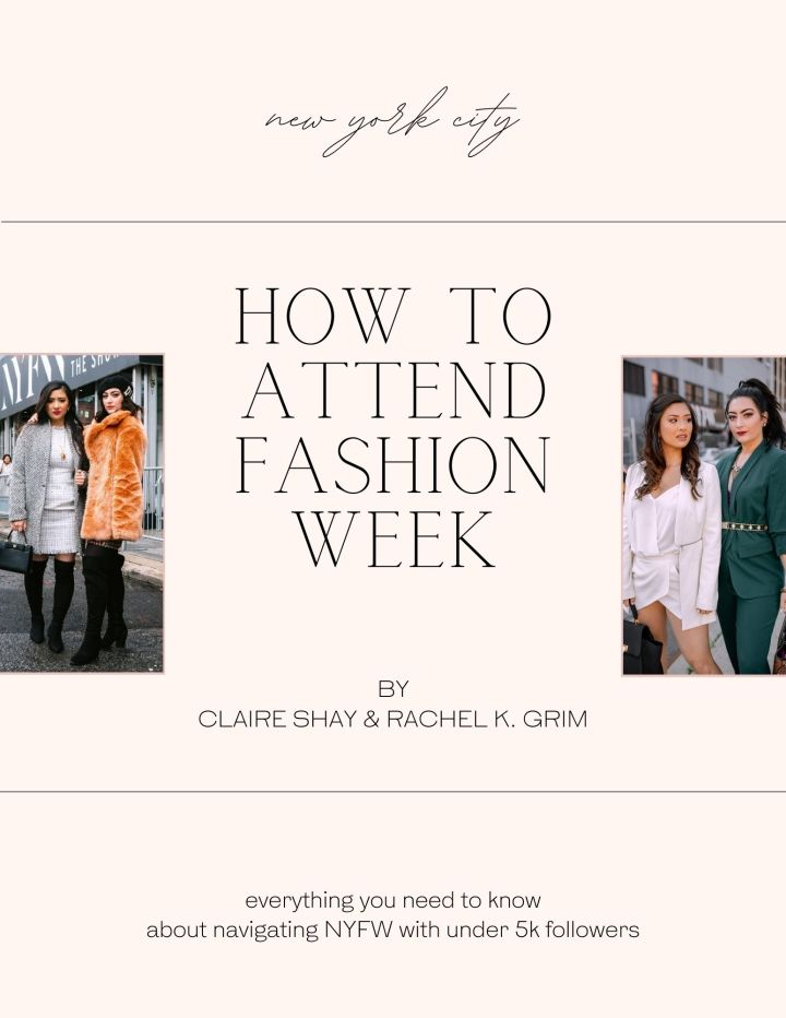 A Guide to Attending NYFW RunwayShows